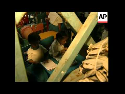 Slum schools offering basic education in city's slums