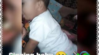 1 year old baby sing 😘🤣