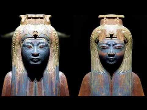 Anomalias en Esculturas Egipcias, Ojos de su Pasado Hibrido