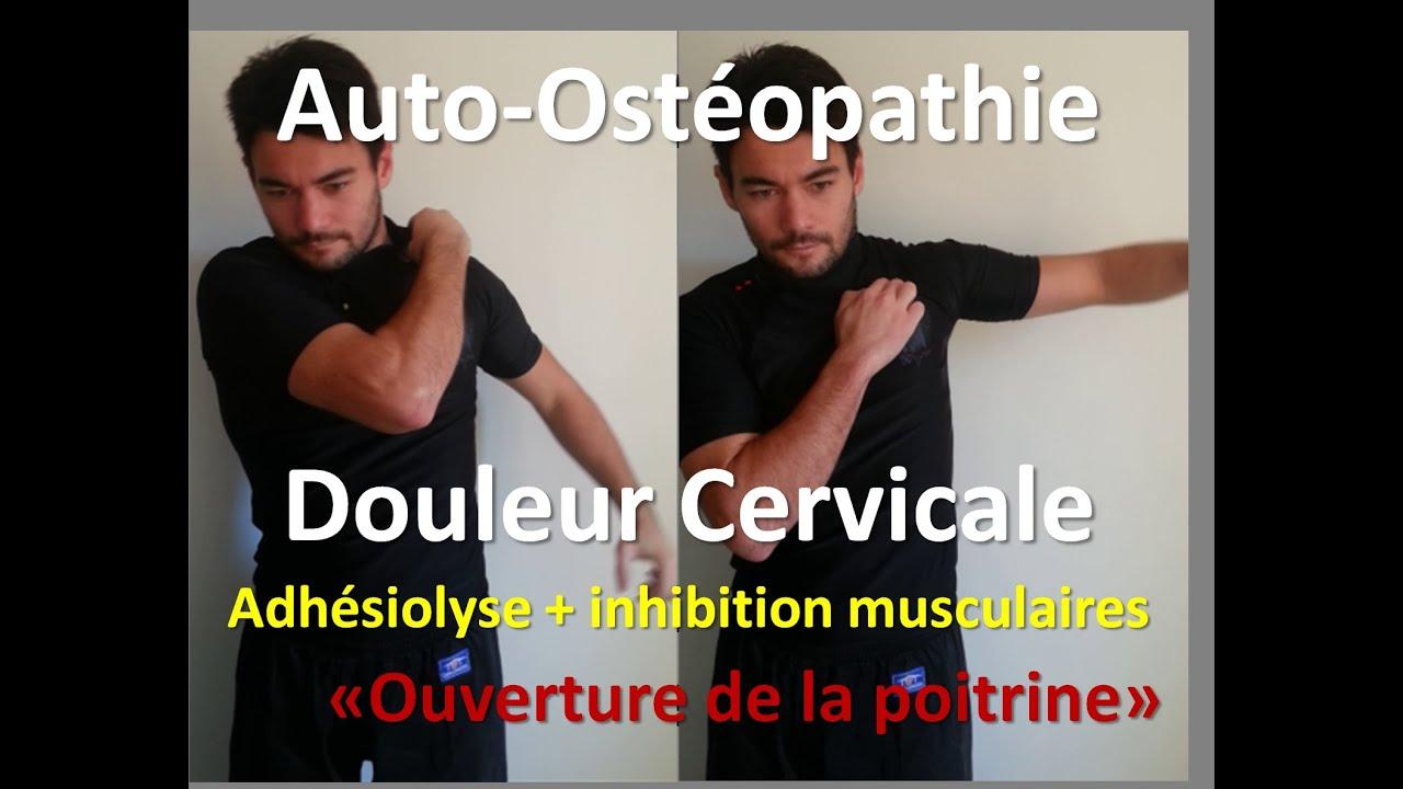 auto osteopathie cervicalgies douleur cervicale lib ration de la nuque youtube. Black Bedroom Furniture Sets. Home Design Ideas