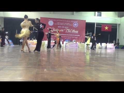 Giải vô địch Khiêu vũ thể thao Dance sport 2012 - P1