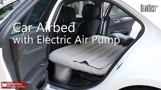Car Airbed with Electric Air Pump - Gearbest.com