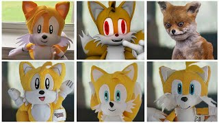 Sonic The Hedgehog Movie - Uh Meow Tails All Designs Compilation in Plush