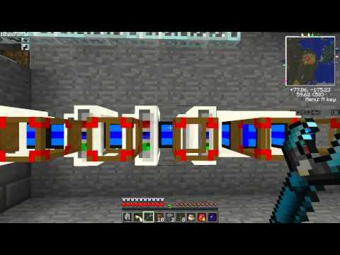 FTB SMP Lets Play Ep 15 Teseracts and Sustanable Energy