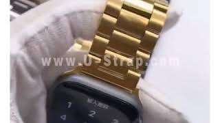U-Strap Apple Watch Sport Strand Band,Link Band,44mm,42mm,40mm.38mm,Series 1 2 3 4