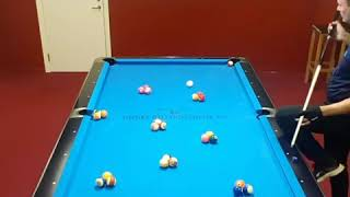 Artistic pool, a mix of power and skills!