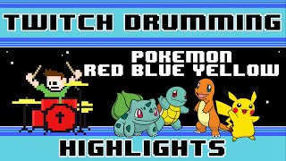 Pokemon Red/Blue/Yellow OST (Drum Cover) -- The8BitDrummer