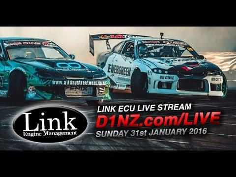 D1NZ Round 3 - LIVE STREAM thanks to LINK ECU (Sun 31st Jan 2016)