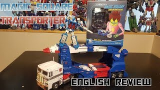 Video Review of Magic Square Transporter