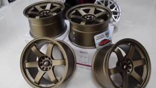 Диски japan racing jr3 wheels bronze 18x10.5j 5x114.3 5x120 te37 style bmw
