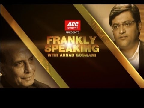 Frankly Speaking with Rajnath Singh - Full Interview