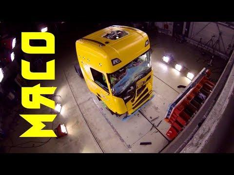 Краш тест грузовика!