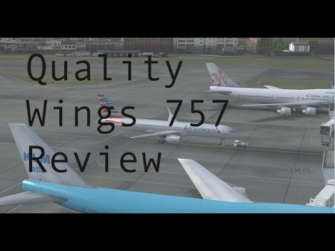 FSX - Quality Wings 757 Review
