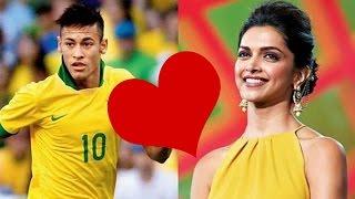 Deepika Padukone's Special Connection With Star Footballer Neymar Jr !