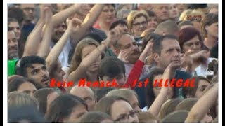 """HANNOVER CONCERT-Kein Mensch Ist ILLegal- With """"Christian Bakotessa"""" By N I C C project"""