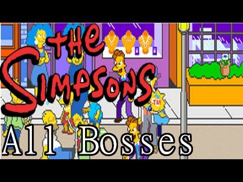 The Simpsons Arcade Game All