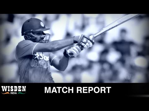 Australia beat India by four wickets in tri-series game   Match Report   Wisden India
