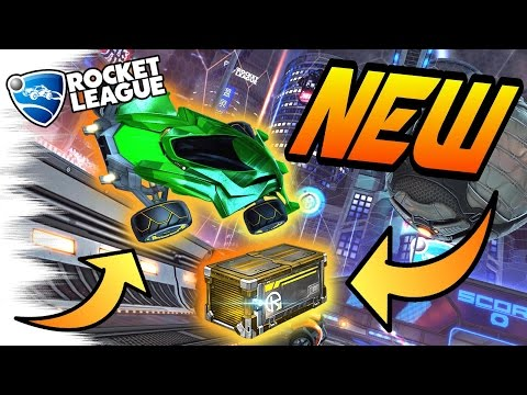 NEW Rocket League UPDATE! - NITRO CRATE, Mantis Car, New Mystery Decals? (Trading/News)