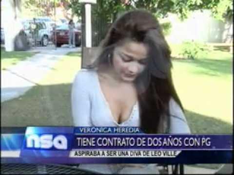 VERONICA HEREDIA RENUNCIO A LA AGENCIA DE LEO VILLE 07 07 2012 @NO SOMOS ANGELES