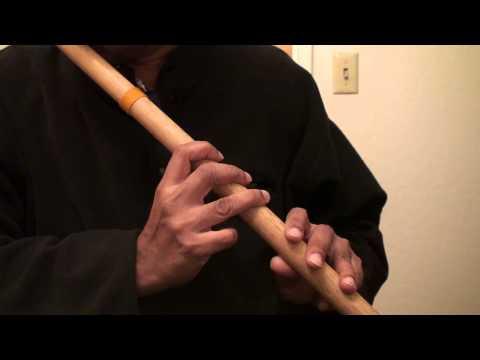 Kora kagaz tha yeh man mera on flute - Travails with my flute...