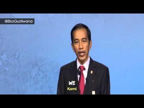 Presiden JOKOWI Nyanyi di APEC Beijing (@EkaGustiwana)
