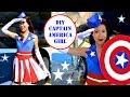 download lagu CAPTAIN AMERICA GIRL COSTUME!- USO Girl- No Sew! gratis