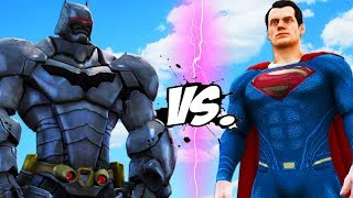 BATMAN ARMORED VS SUPERMAN - EPIC BATTLE