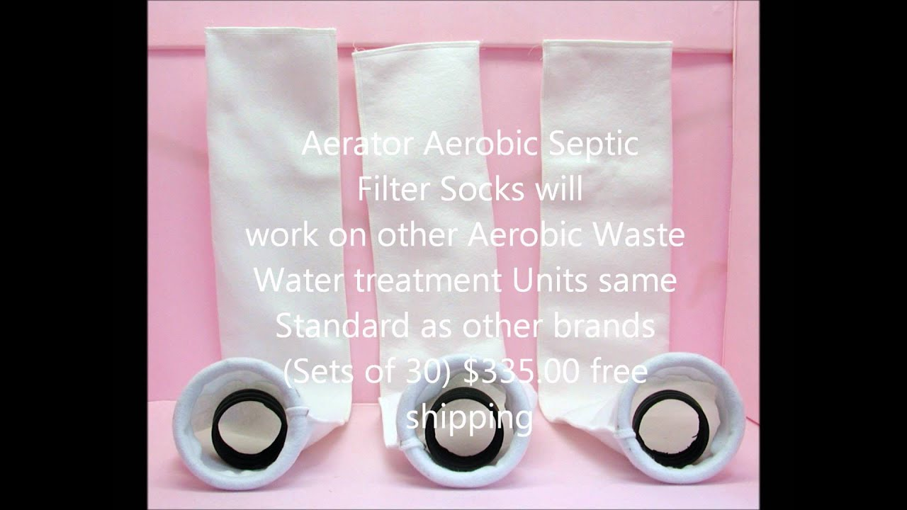 Aerator Aerobic Septic Filter Socks Same Standard Youtube