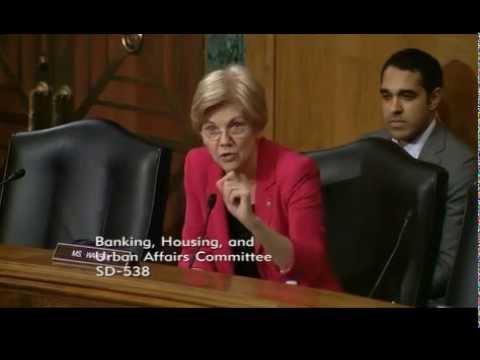 Senator Elizabeth Warren - Senate Banking Nominations Hearing