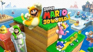 Super Mario 3D World Wii U con Logan Parte 2