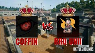 Coffin vs RRQ Unii | 2 Fingers + Gyroscope | PUBG Mobile