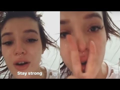 Bella Thorne BREAKS DOWN into Tears Over Fan Reactions to Her Sexual Abuse Story
