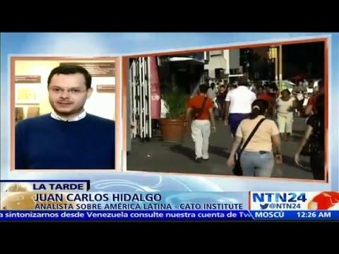 """Juan Carlos Hidalgo comenta la situación en Venezuela post-elecciones en """"La Tarde"""" de NTN24"""