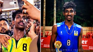 Ajithlal Chandran | Indian Volleyball | AVC | Monster of the Vertical Jump