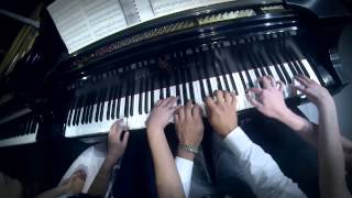 Albert Lavignac - Galop Marche (one piano, eight hands)