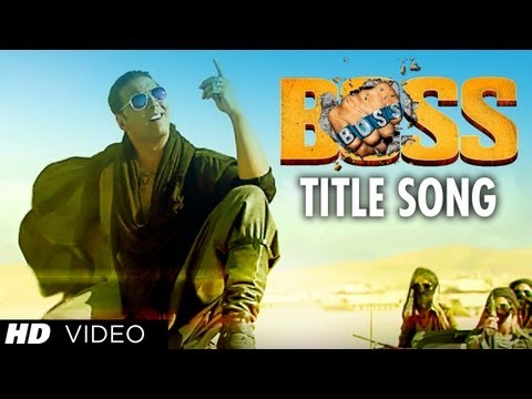 boss Title Song Feat. Meet Bros Anjjan | Akshay Kumar | Honey Singh | Bollywood Movie 2013 video