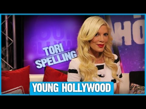 Tori Spelling on Reuniting with Jennie Garth for MYSTERY GIRLS!