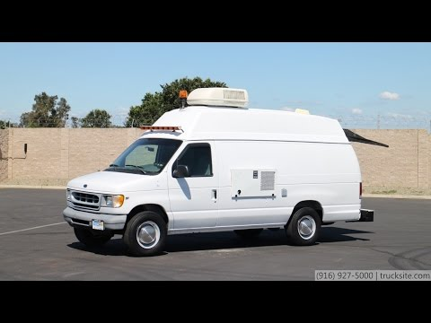 2000 Ford RS Technical Service Pipeline Inspection Van for sale