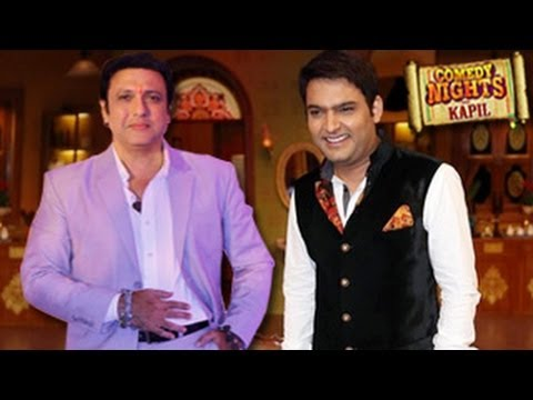 Comedy Nights with Kapil GOVINDA SPECIAL in Comedy Nights 3rd November 2013 FULL EPISODE