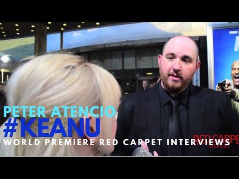 "Peter Atencio, Director Of Keanu At The Premiere Of ""Keanu"" #KEANU #KeyandPeele"