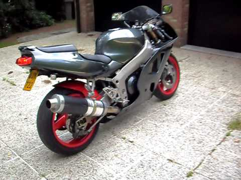 Kawasaki Zxr 750 Ninja Youtube
