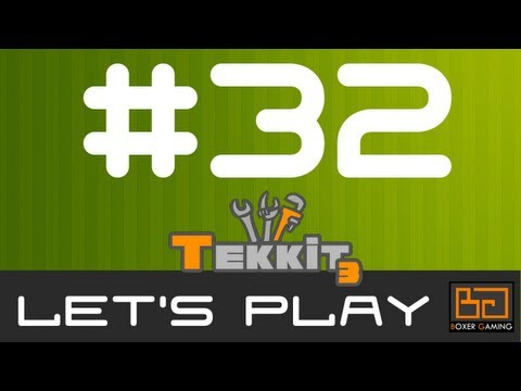 MineCraft Tekkit Let's Play - Episode 32 [Mining Turtle]