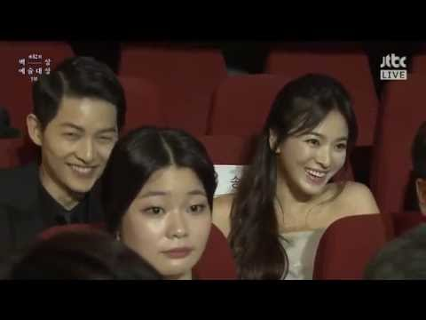 160603 송중기 송혜교 송송커플 Song Joong Ki Song Hye Kyo Song Song Couple @ Baeksang Arts Awards 宋仲基 宋慧乔