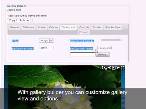 Joomla Gallery Extension installation