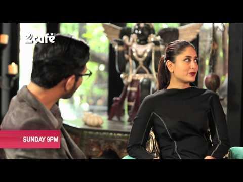 Kareena on Look Who's Talking with Niranjan