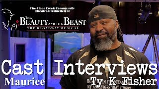Beauty and the Beast - Cast Interviews: Ty K Fisher