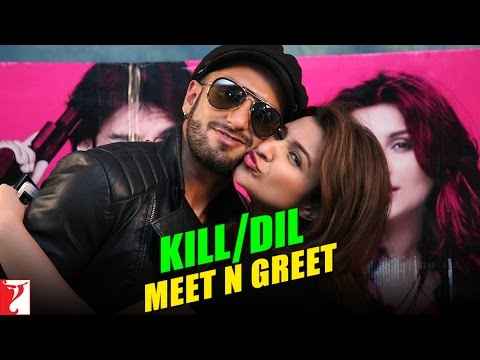 Meet-n-Greet With Ranveer Singh & Parineeti Chopra - Kill Dil