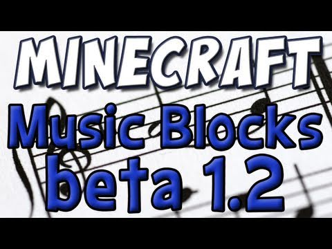 Minecraft - Musical Boxes! (1.2 Beta Update Part 5)