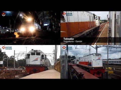 Konser Semboyan 35 Lokomotif Diesel Elektrik - Indonesian Train Locomotive Hornsound Compilation