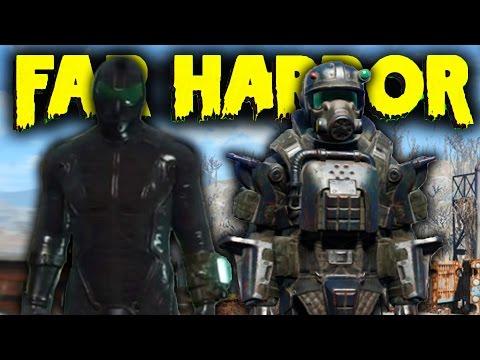 Fallout 4 Far Harbor DLC - Full ASSAULT MARINE ARMOR Set Location & Wetsuit ! (Fallout 4 DLC)